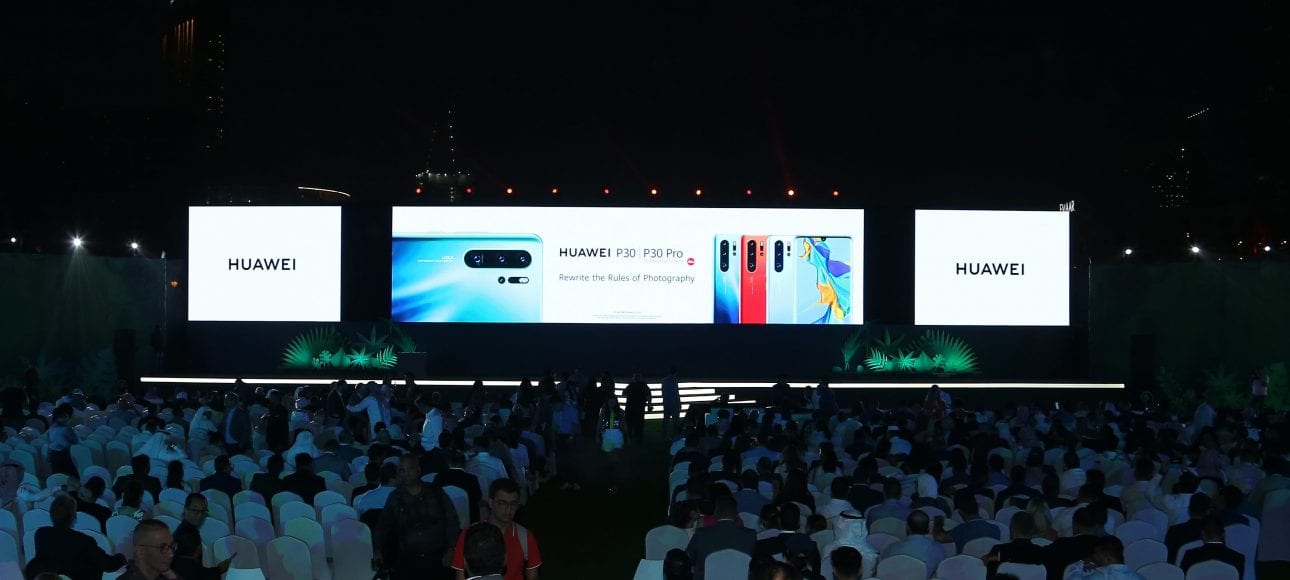 HUAWEI P30 Series Regional Launch Event in Dubai_2