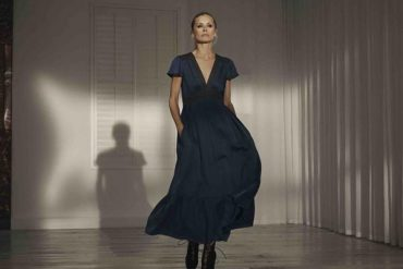 Laura Bailey x Iris & Ink Edie dress